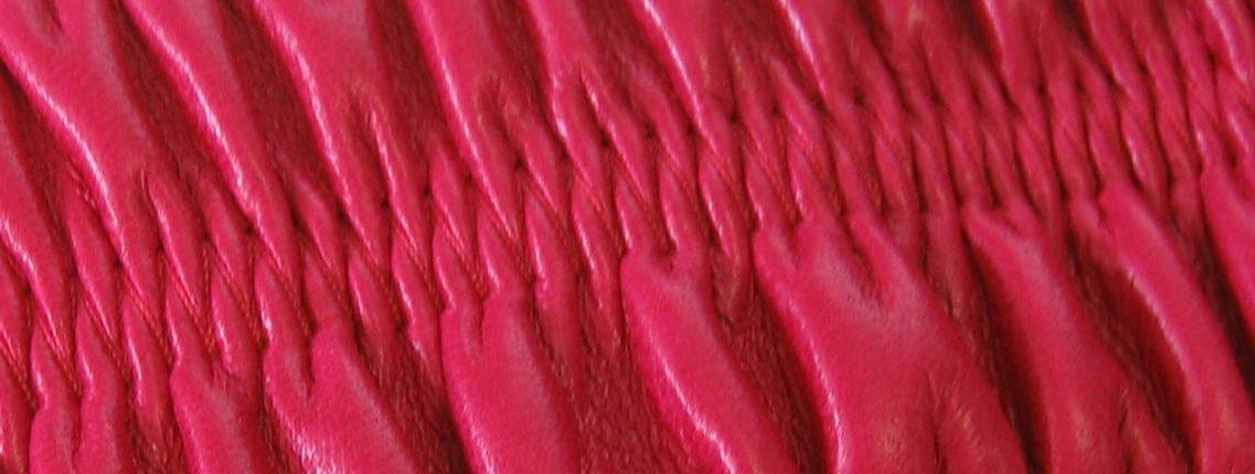 Produzione elastici rivestiti in pelle