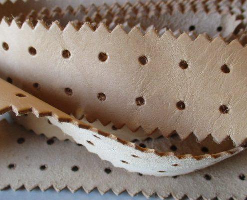 Bordini in pelle per accessori