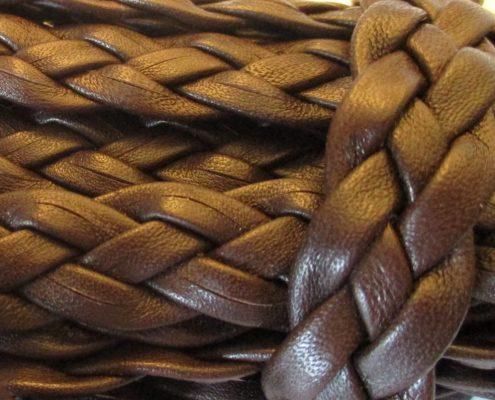 Trecce in pelle per calzature e pelletteria