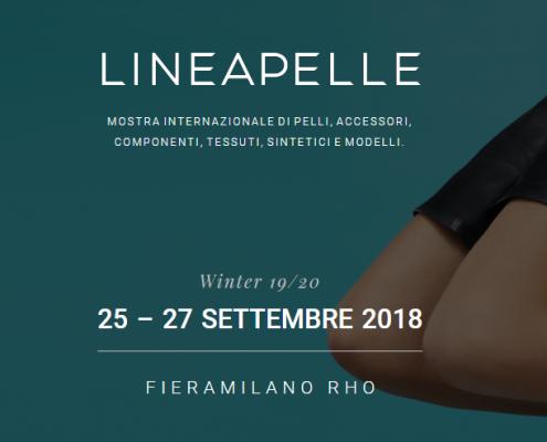 Lineapelle settembre 2018